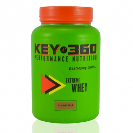 KEY360 Nutrition Extreme Whey Protein Cocoatella 910g / 2lbs